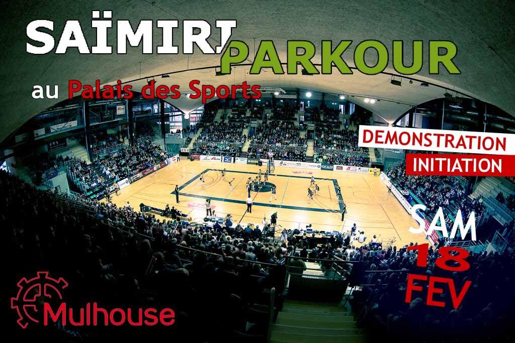 Saïmiri Parkour au Palais des Sports !