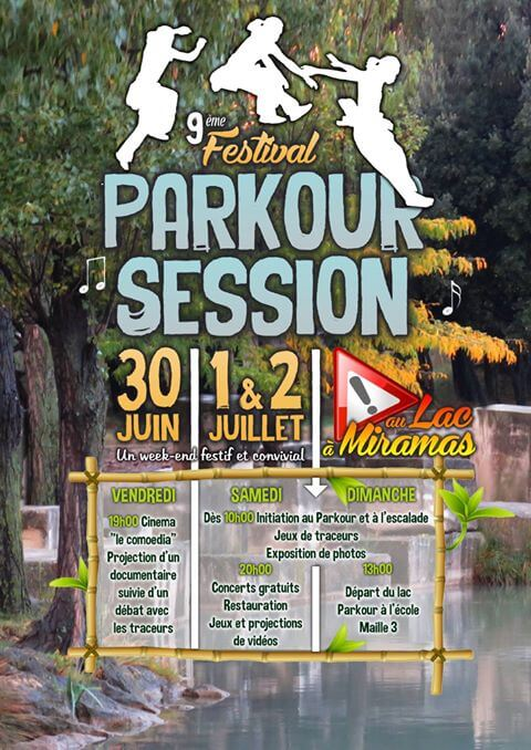 Parkour Session Miramas 2017