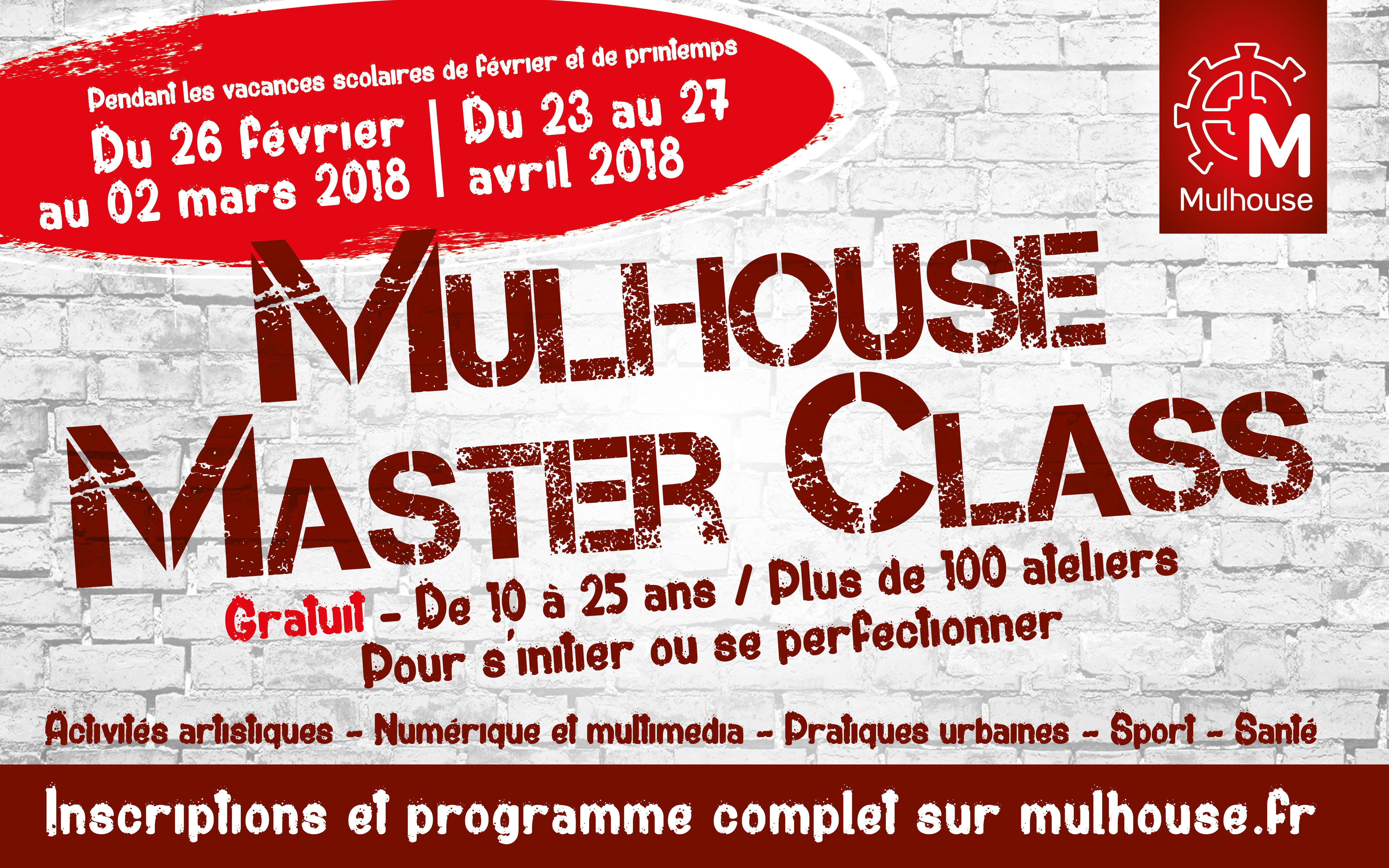 Stage Hiver – Mulhouse Master Class