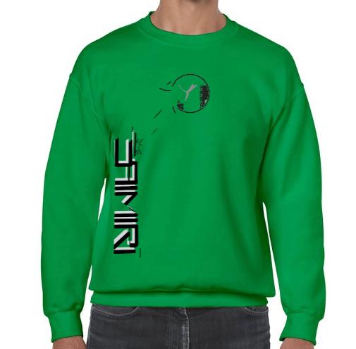 Pull vert uniquement